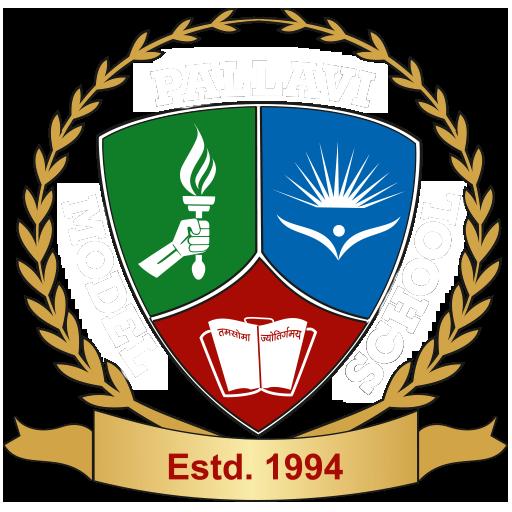 Pallavi Model School Bowenpally Logo